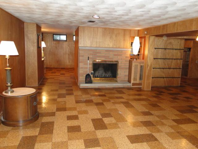 Lower level family has fireplace & full wet bar