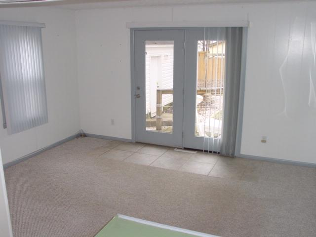 Family Room Opens To Deck
